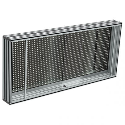 Stainless steel Perforated tool holder panel | MAINTPOST 350A WALL-MOUNTED