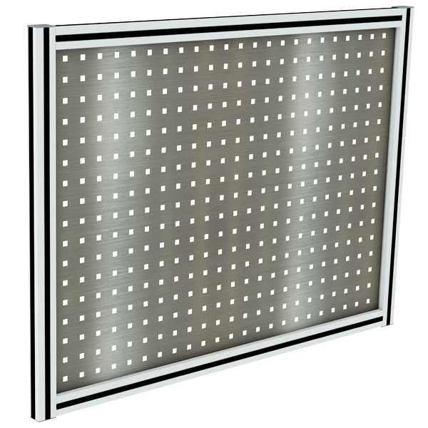 Stainless steel Perforated tool holder panel   MAINTPOST 250A