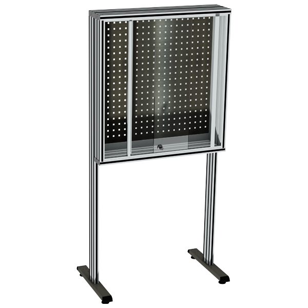 Stainless steel Perforated tool holder panel | MAINTPOST 350B