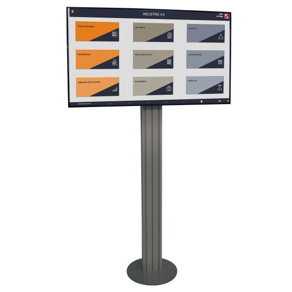 Dynamic and connected digital display | E-LEANBOARD